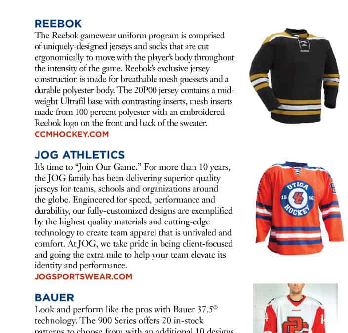 JOG in USA Hockey Magazine 2016 Edition