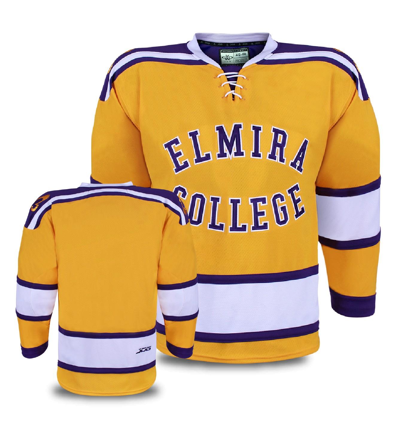 Custom hockey jersey for the men's and women's ice hockey teams. NHL jersey quality ice hockey jersey.