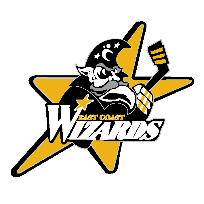 East Coast Wizards (ECW) Men's and Women's Hockey logo