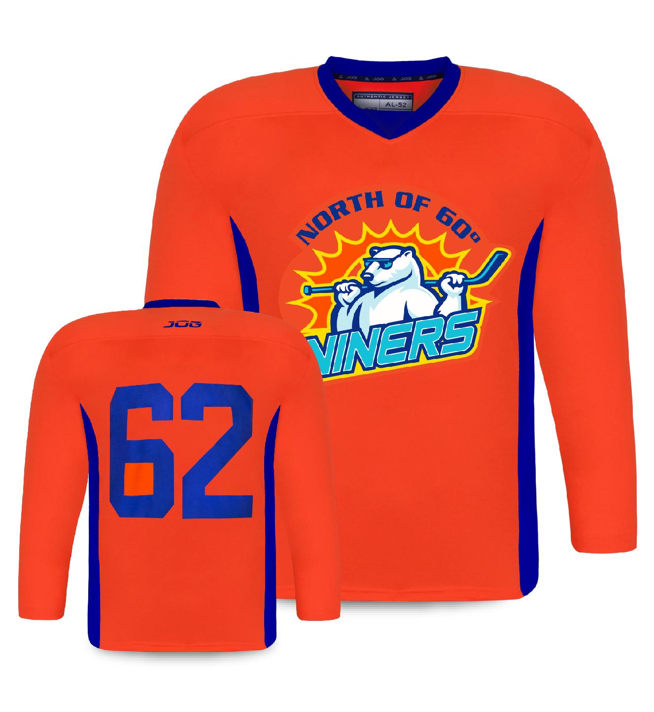 Custom hockey practice jersey for Andrews Hockey.