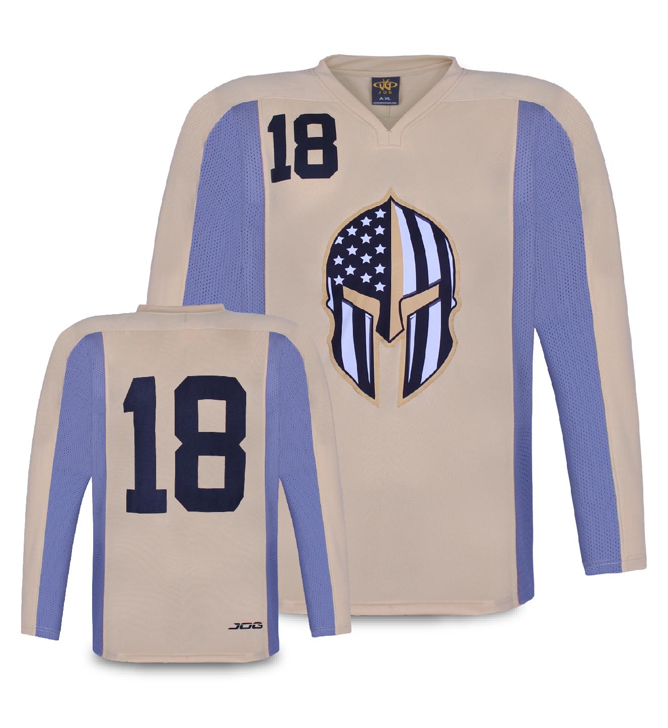 Custom hockey practice jersey.
